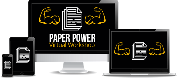Paper Power Virtual Workshop