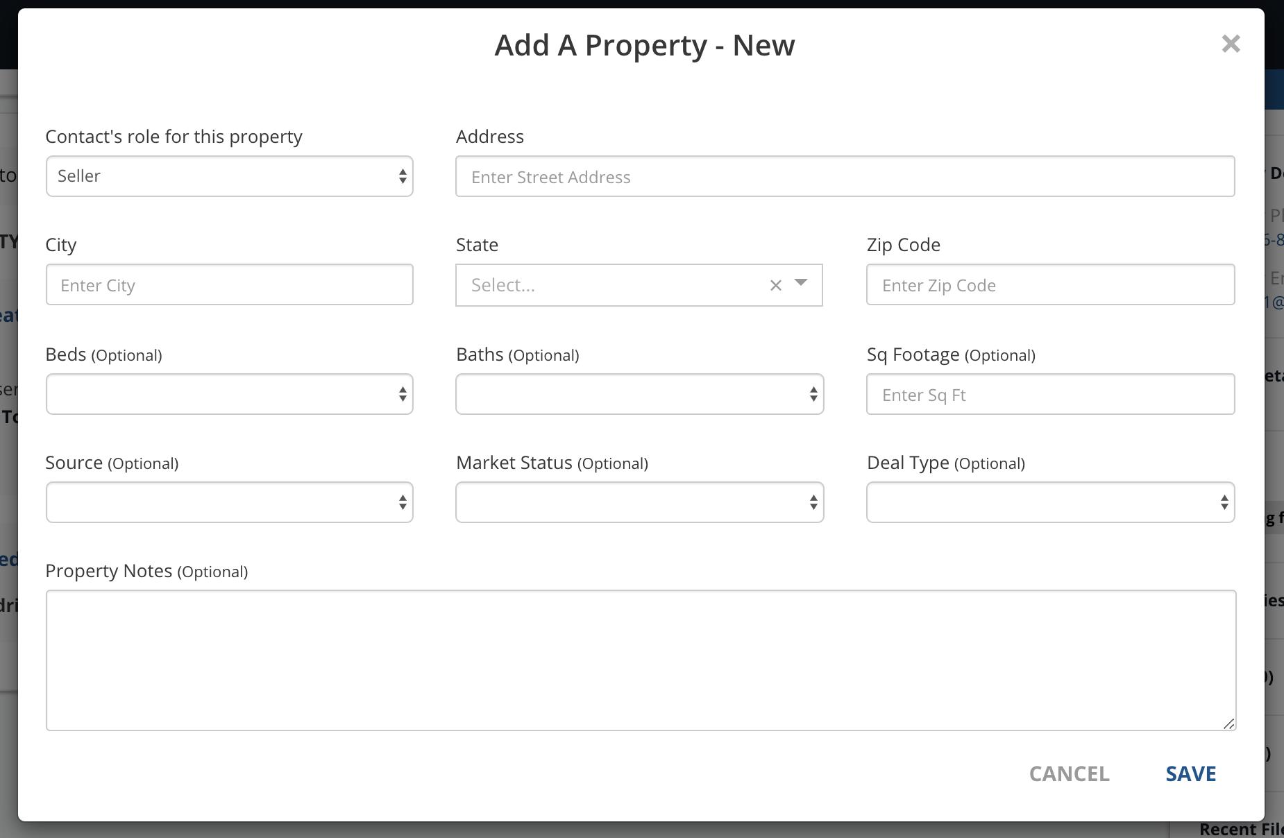 Add A Property New